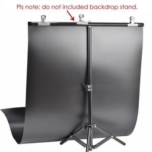 Image 3 - 60x130 ซม.สีขาว/สีดำ PVC Anti Wrinkle Frosted / Glossy 2 in 1 ฉากหลังสำหรับ photo Studio การถ่ายภาพอุปกรณ์