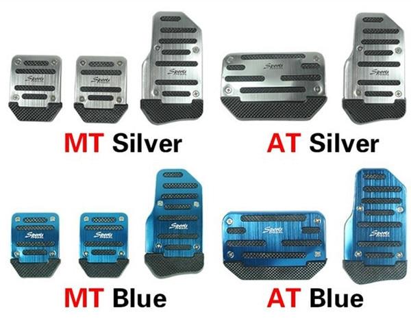 For Ford Focus 2 3 Chevrolet Cruze Mazda 3 6 Skoda Octavia A5 A7 New Car Accelerator Pedal Aluminum+Rubber Auto Accessories чехол на сиденье skyway chevrolet cobalt седан ch2 2