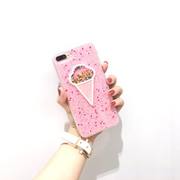 Fashion Cute Cartoon 3D Ice Cream Soft Silicon Phone Back Cover Phone Case For IPhone 6