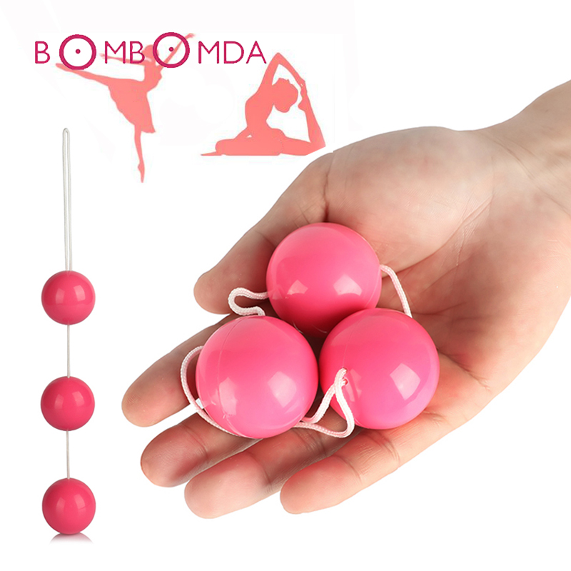 Sex Toys Kegel Balls Smart Love Ball Vaginal Tighten Exercise Machine Vibrator Shrink Vagina Geisha Ball Ben Wa Balls for Woman 100% medical silicon vibrator kegel balls vibrator sex toys bolas vaginal ball tighten aid love geisha ball ben wa for woman
