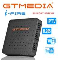 GTMedia Ifire IPTV Box Digital Set Top Box TV Decoder FULL HD 1080P (H.265) Built-in WIFI module iptv support Spain DE IT UK m3u
