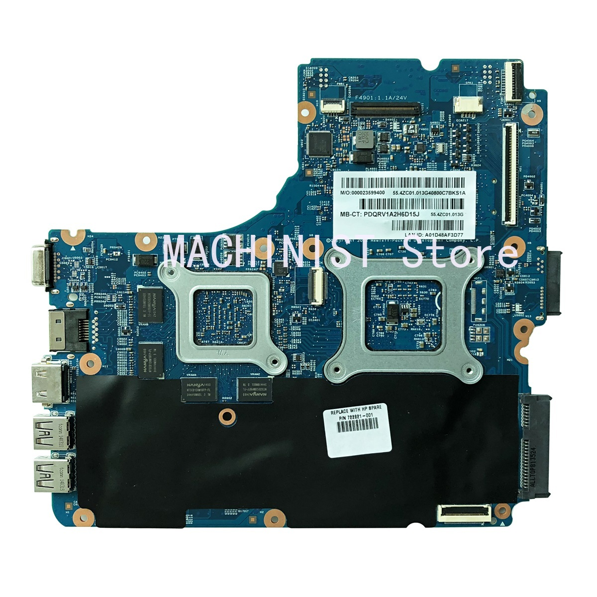 445 G1 Laptop Motherboard For HP 455 G1 455-G1 445-G1 motherboard 48.4ZCW03.011 12240-1 722821-001 722821-501 722821-601 1
