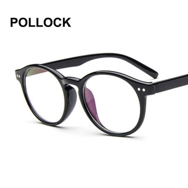 POLLOCK Retro Fashion Eyeglasses Male Eye Glasses optical Frames ...