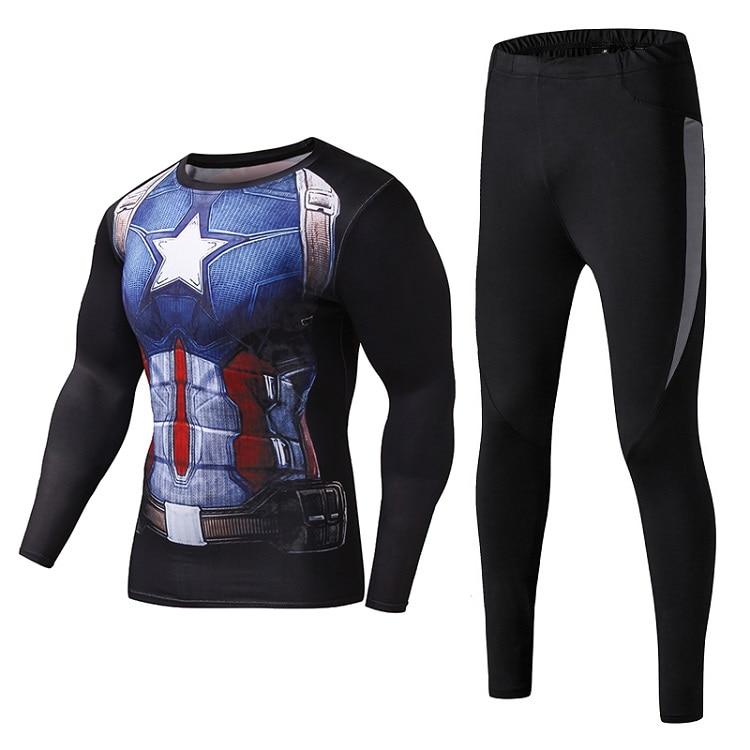 Les hommes de compression chemise manches longues de remise en forme - Sportswear et accessoires - Photo 6