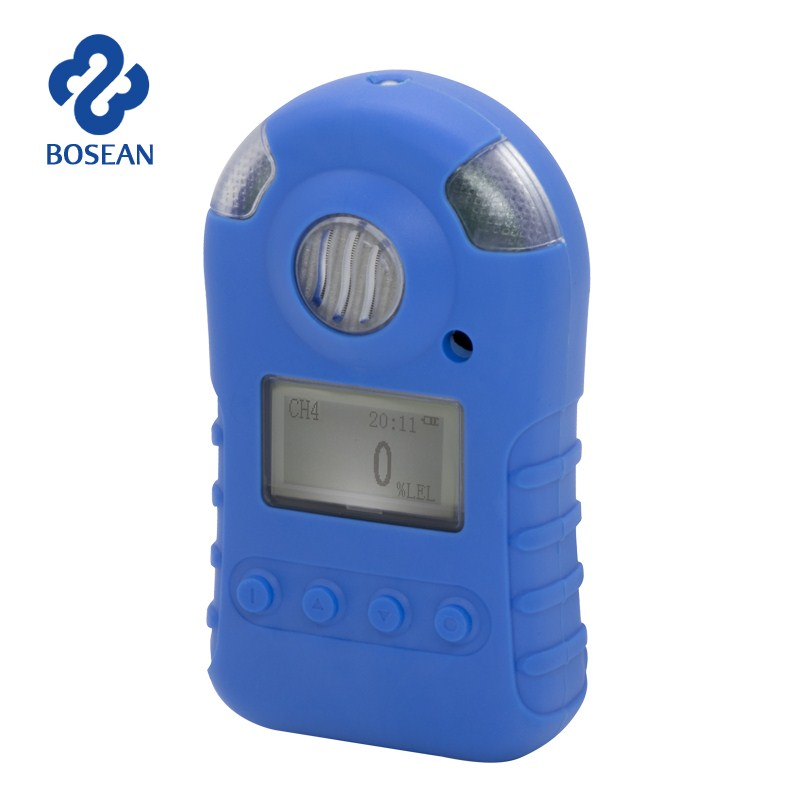 Portable Single Gas Detector H2S CO H3S Monitor Gas Tester Automatic Alarm Sensor Gas Analyzer Harmful