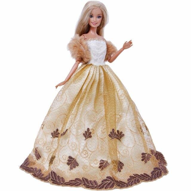 High Quality Princess Wedding Dress Fancy Evening Gown Party Wear + ...