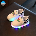 2017 first walkers LED light baby boy and girl sports shoes children casual shoes fashion kids newborn toddler 1 to 5 years old