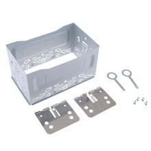 Premium Auto Stereos Audio Refitting ISO 2DIN Installation Metal Cage Mounting Brackets Car Accessories
