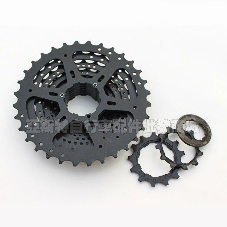 SHIMANO CS-HG200-9 MTB Mountain Bike Bicycle 9 Speed Cassette Black Freewheel