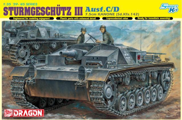 ФОТО DRAGON 6851 1/35 STURMGESCHUTZ 7.5cm KANONE Ausf.C/D (Bonus:Magic tracks)