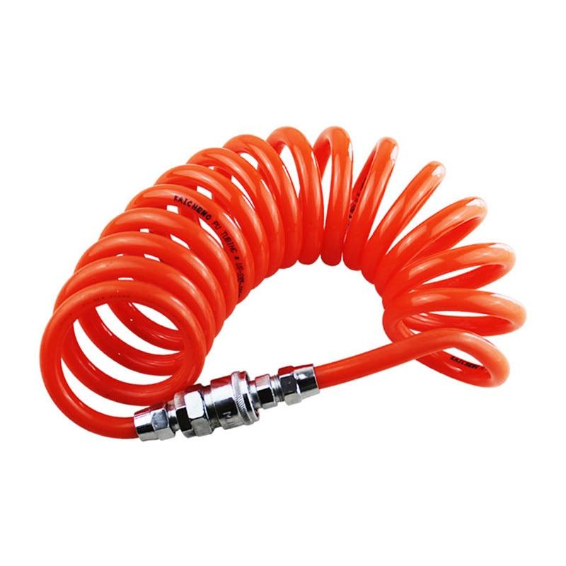 Free Shipping 9M 8mm x 5mm Polyurethane PU Air Compressor Hose Tube for Compressor Air Tool 12m 39 ft 8mm x 5mm polyurethane pu recoil air compressor hose tube orange red free shipping