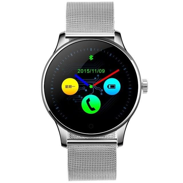 Hombres k88h smart watch impermeable usable dispositivos de salud digital inteligente smartwatch para apple android samsung gear nuevo smart