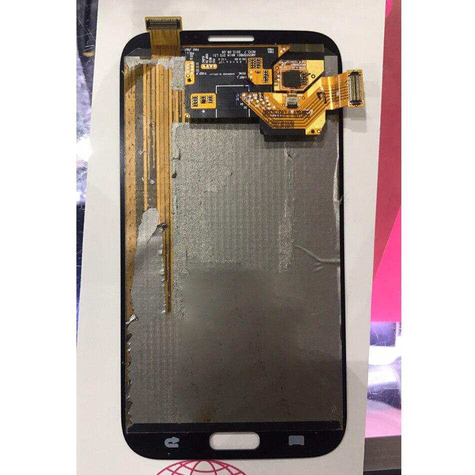 SUPER AMOLED pour Samsung Galaxy Note 2 LCD N7100 Note2 N7105 LCD écran tactile numériseur assemblée remplacement 100% testé