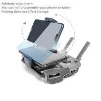 Dji mavic 2 pro zoom/pro 1//air/spark/mavic 미니 드론 송신기 용 mavic drone 원격 제어 홀더 전화 태블릿 트레이