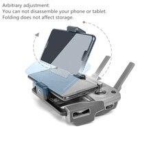 Mavic drone uzaktan kumanda tutucu tablet telefon tepsisi dji mavic 2 pro zoom/pro 1//hava/ spark/mavic mini drone verici