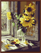 "DIY Painting By Number – Sun Flower (16""x20"" / 40x50cm)"