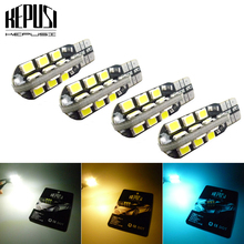 T10 W5W Canbus LED 2835 24smd Car Instrument Panel lamp Wedge Bulb 194 168 Clearance light License Plate Parking 12V