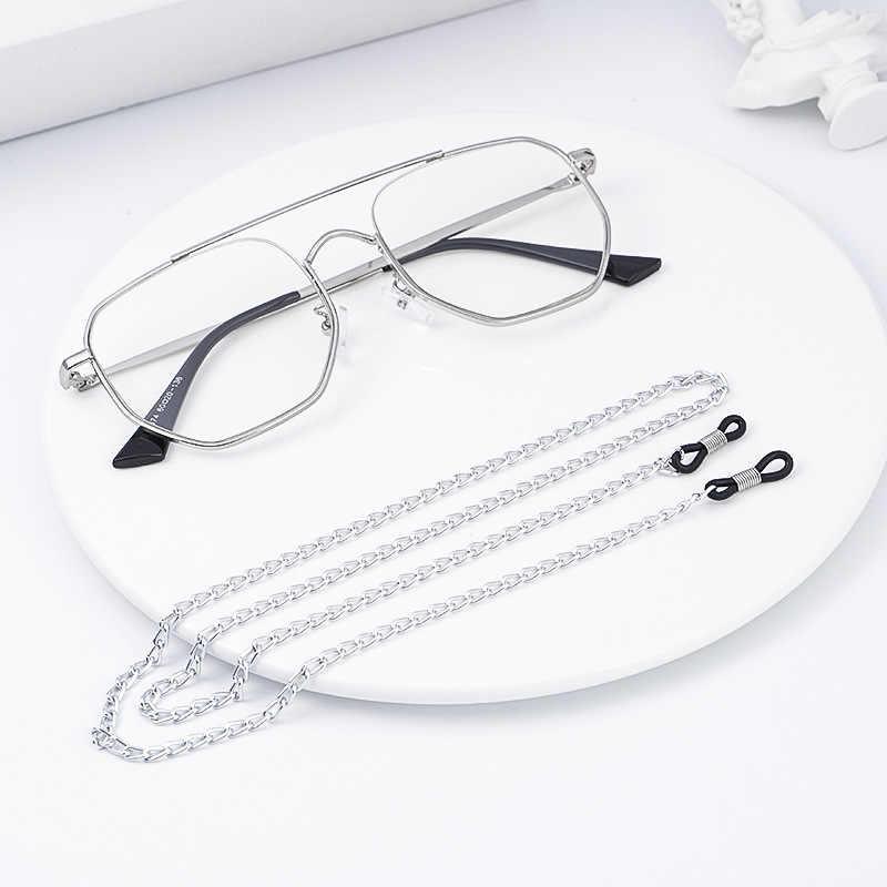 2019 nowy pasek do okularów okulary metalowy łańcuszek do czytania okulary uchwyt na przewód smycz na szyje liny prezent modne okulary przeciwsłoneczne akcesoria