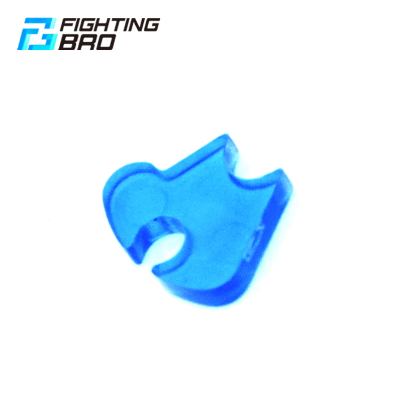 Fighting Bro Paintball Gear Sector Clip Gear Delayer For AEG Gearbox Hunting Accessories Plastic Transparent Delay Device Blue