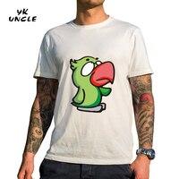 YK UNCLE Brand 2017 New Summer Style Men T Shirt Cotton Short Sleeve T Shirts Cartoon