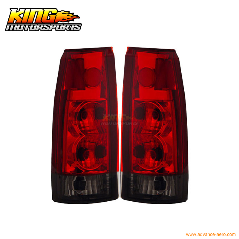 for 2005 2007 06 chrysler 300 300c led tail lights black lamps usa domestic free shipping For 1988-1998 Chevy Full Size Tail Lights Red Smoke New Lamps USA Domestic Free Shipping