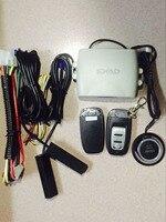 PKE Smart Car Alarm System With Passive Auto Lock Unlock Car Door Keyless Push Button Start