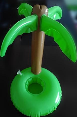 10 pcs Brinquedos de Banho Verão Bonito Brinquedo Árvores de Coco Bebida Pode Titular PVC Inflável Flutuante Piscina Casa de Banho de Praia de Água brinquedos