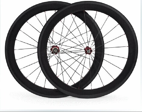 carbon road bike wheelset 700C 60mm 23mm width clincher/tubular wheels for road bicycle power way r13 20/24h
