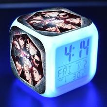 Bangtan7 Color Changing Alarm Clock (8 Models)