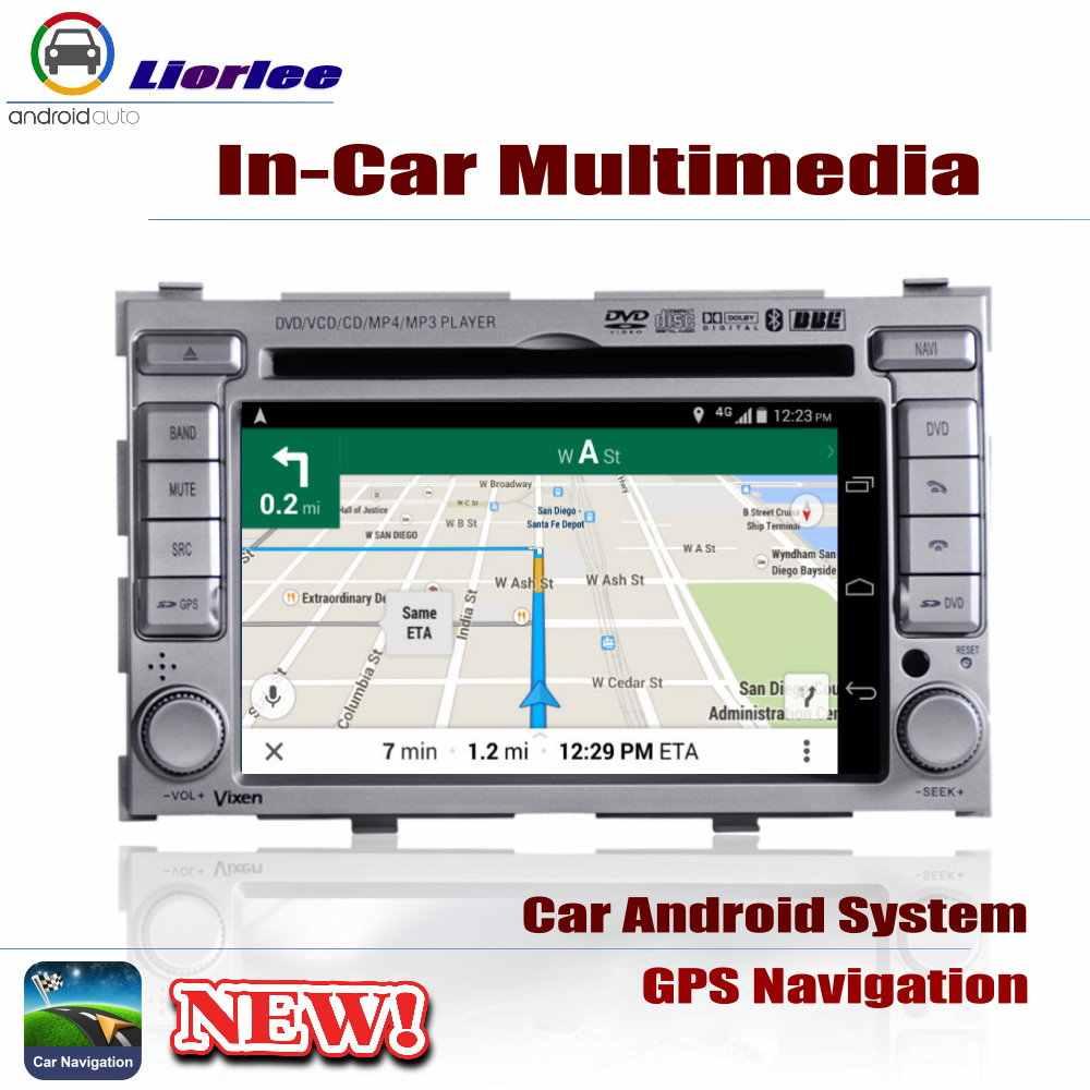 Автомобильный dvd-плеер gps навигации для hyundai нажмите 2008 ~ 2015 автомобильное мультимедиа андроид Системы HD Экран Радио Стерео Штатная