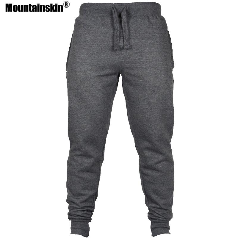Mountainskin Men's Sweatpants Fitness Jogger Pants Bodybuilding Gyms Pant Male Hip Hop Workout Long Trousers Sportswear SA610