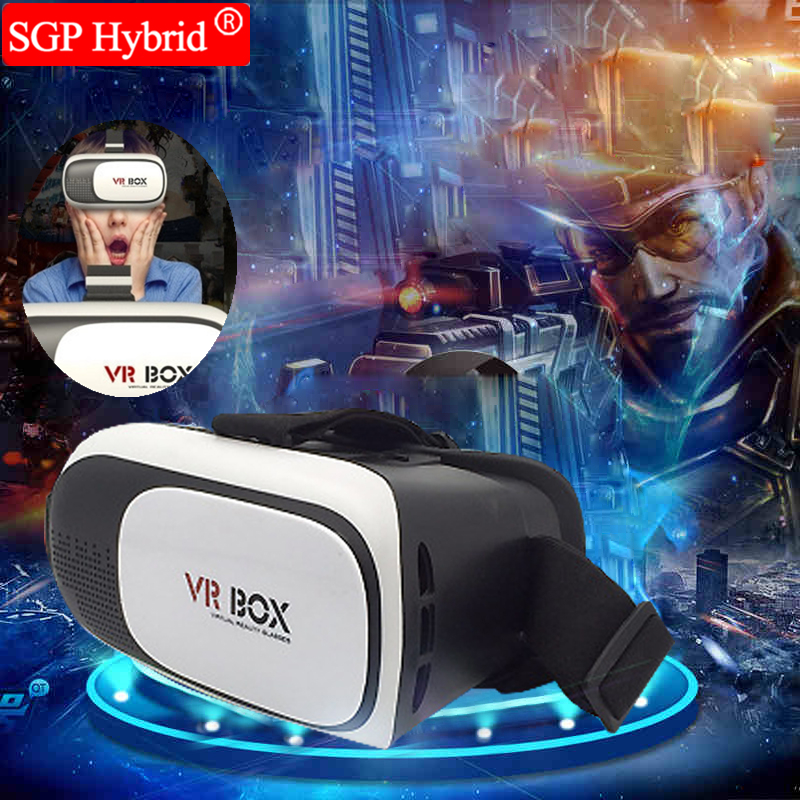 <font><b>VR</b></font> BOX II 2 Version 3D <font><b>Virtual</b></font> <font><b>Reality</b></font> <font><b>Video</b></font> Movie Game <font><b>Glasses</b></font> Headset + Bluetooth Remote Controller Joystick Gift to Children
