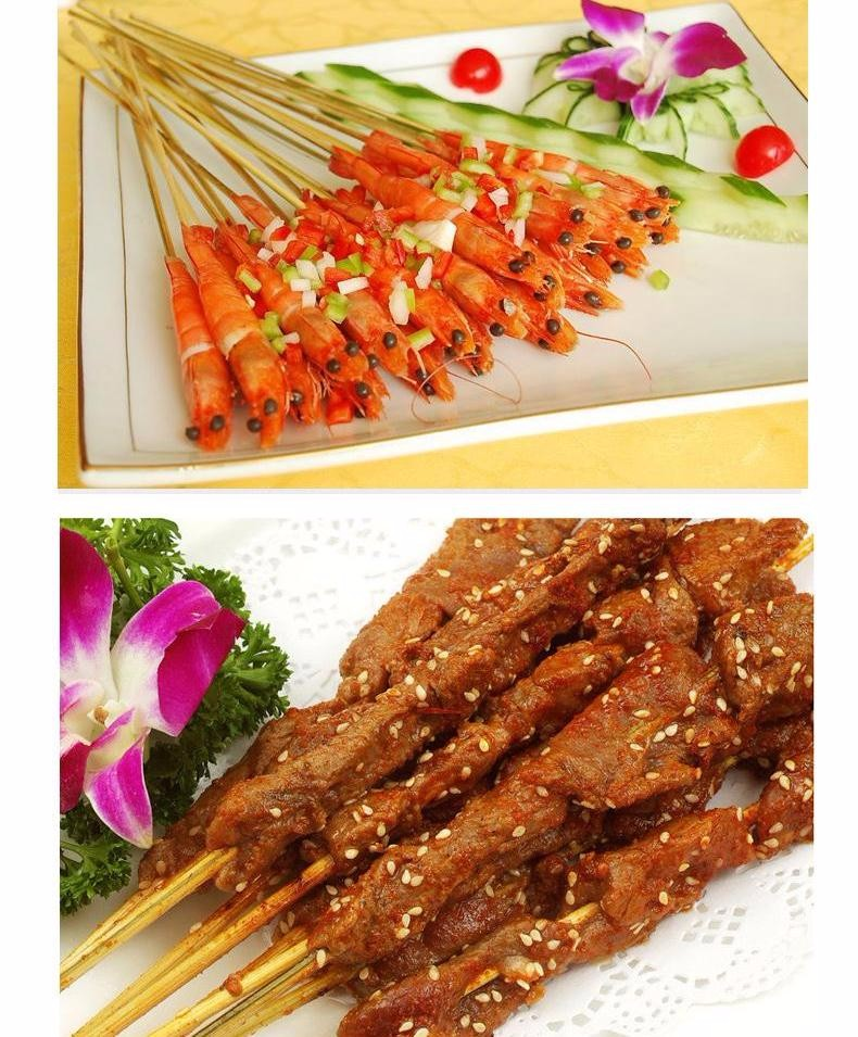 Meat food disposable sticks (9)