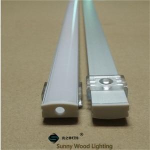 Image 2 - 10 40 סט\חבילה, 20 80m 2m/80 אינץ אורך led אלומיניום פרופיל עבור led בר אור, 12mm led רצועת אלומיניום ערוץ, רצועת דיור