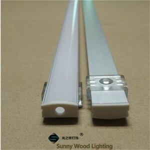 Image 2 - 10 40 компл./Лот, светодиодный алюминиевый профиль длиной 20 80 м, длиной 2 м/80 дюймов для светодиодной панели, 12 мм фотоэлемент, корпус полосы