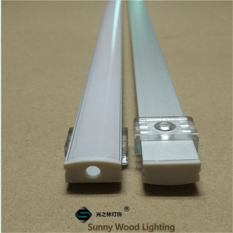 10-40set/lot,20-80m  2m/80inch length led aluminium profile for led bar light, 12mm led strip aluminum channel, strip housing 10 40pcs lot 80 inch 2m 90 degree corner aluminum profile for led hard strip milky transparent cover for 12mm pcb led bar light