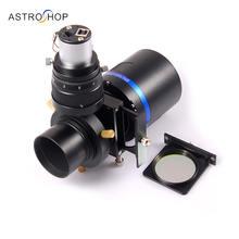Почему 163C + QHY5L-II-М плюс внеосевой фильтр проводителя плюс ящик замороженных астрономические ПЗС-камеры