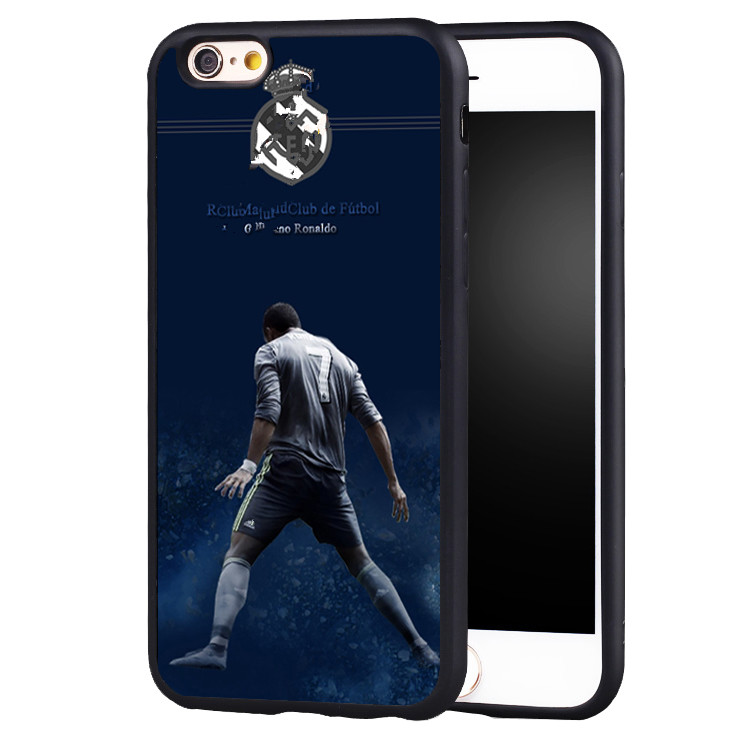 cr7 cristiano ronaldo soccer Silicone TPU case cover for iphone X 8 7 plus 6 6splus 5 5s SE