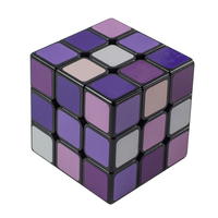 Kid Plastic Magic Cube Magic Professional Toy Sensory Square Cube Infinite Puzzle Toys Office Antistress Cubes For Kids 60D0875