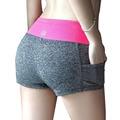 S-XL Женщины Summer Shorts Casual женщин Фитнес Горячие Шорты Печатные Сексуальная Женщина Тренировки Короткие Высокого Стретч Упражнение Брюки 0251