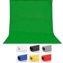 1.6X3m 5x10FT Photography studio Green Screen Chroma key Background Backdrop for Studio Photo lighting Non Woven 7colors стоимость
