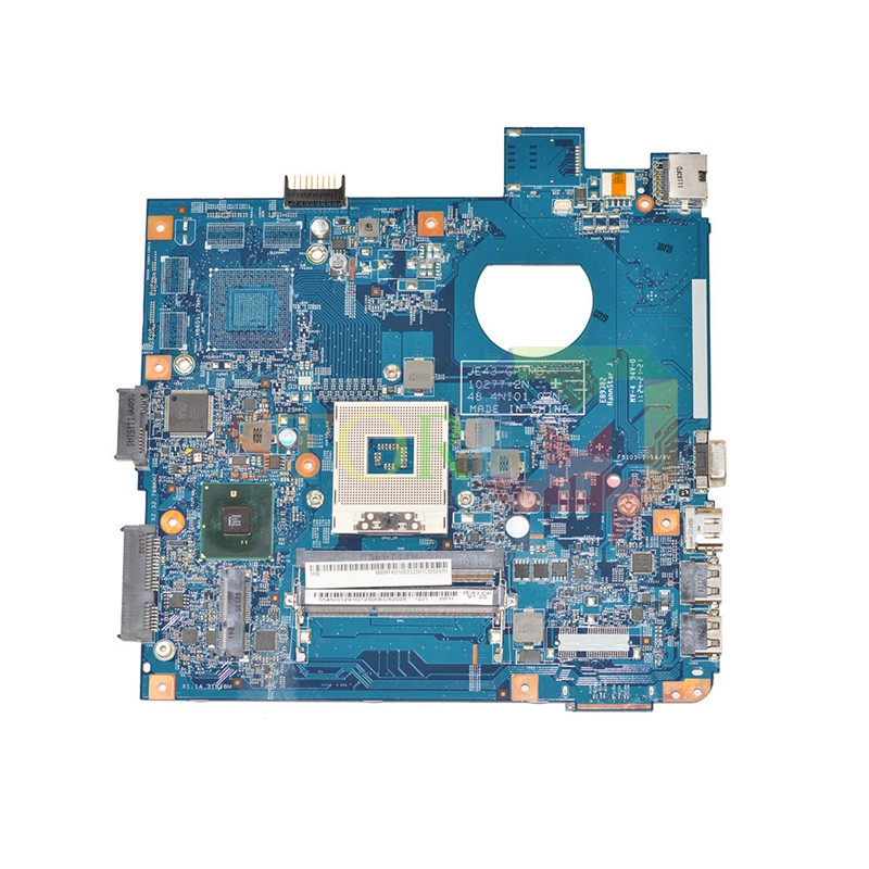 NOKOTION for emachines D730 for acer aspire 4741 laptop motherboard MB.RFK01.002 48.4NI01.02N HM55 GMA HD DDR3 laptop motherboard for acer asipre m3 581t nbry811004 jm50 i3 2367m hm77 gma hd 3000 ddr3