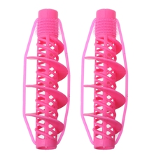 Curlers-Rollers Hairstyle-Tools Spiral-Curling Salon Magic DIY 2pcs