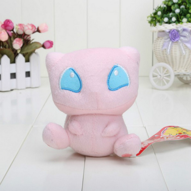 Mew Animal Dolls 15 CM Baby Plush font b Toys b font Children Pocket Mega Plush