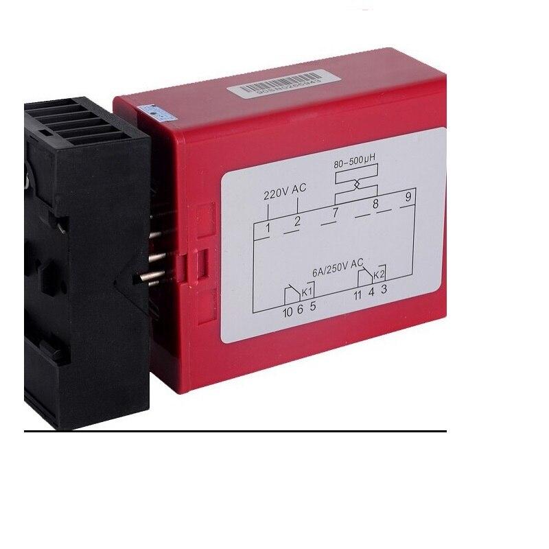 110V/220V 12/24V Single Way Vehicle Loop Detector Parking System Management