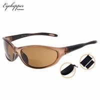 SG905 Eyekepper TR90 Frame Bifocal Sports Sunglasses Baseball Running Fishing Driving Golf Softball Hiking Sun Readers
