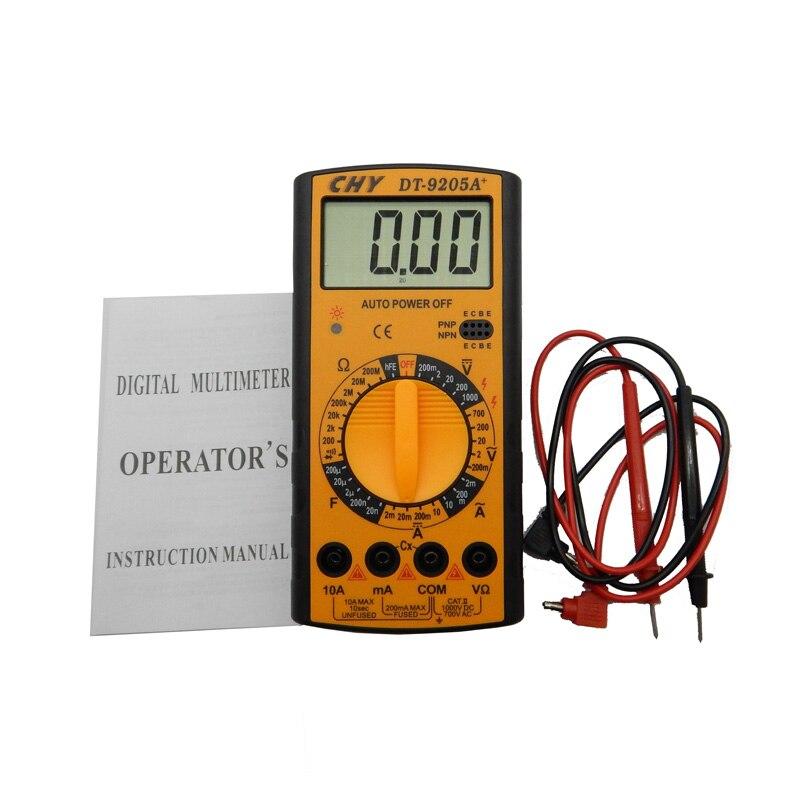 Cartoon Battery Tester : High presion professional handheld tester digital