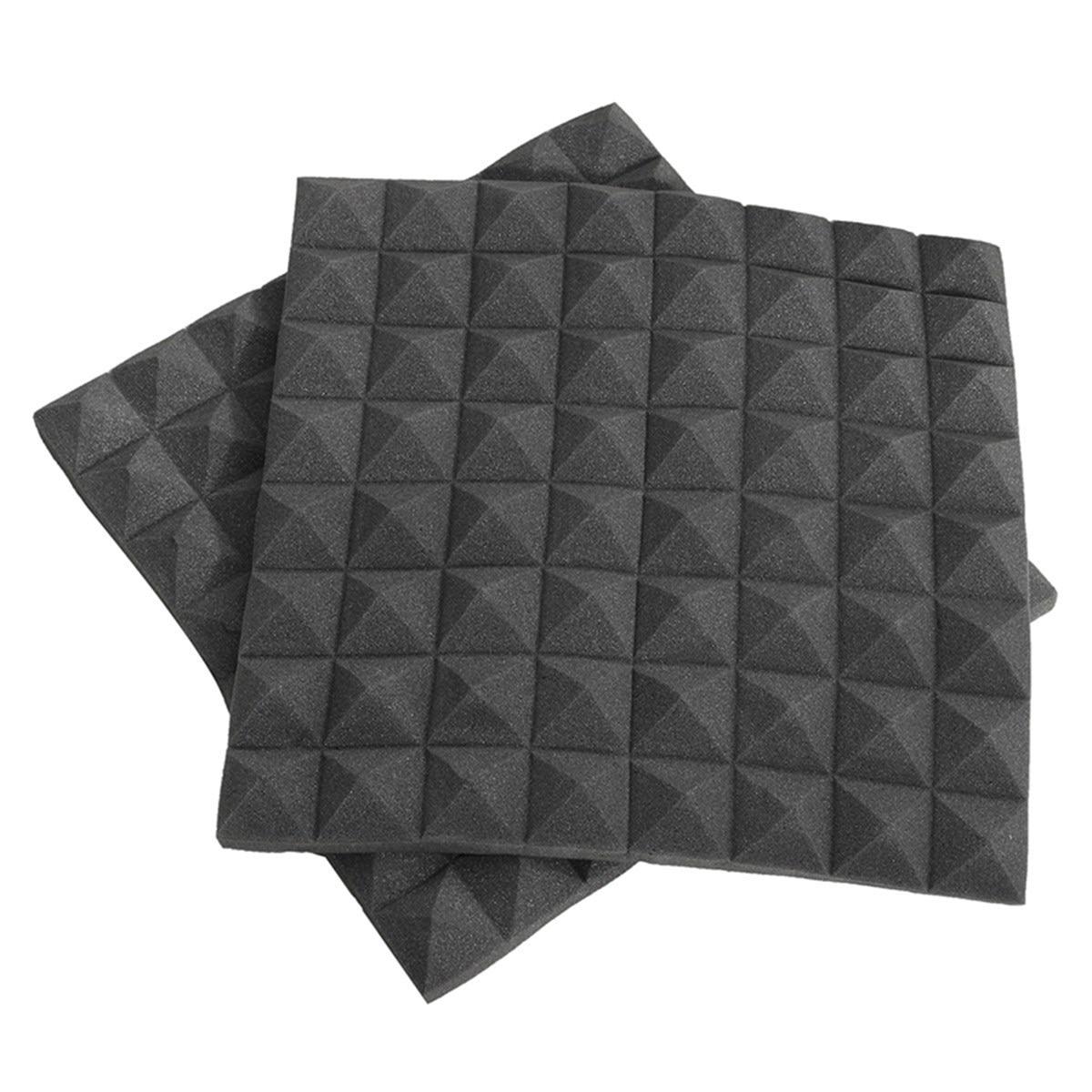 Sound Foam Panels For Walls : Hot sale pcs soundproofing foams acoustic wedge studio