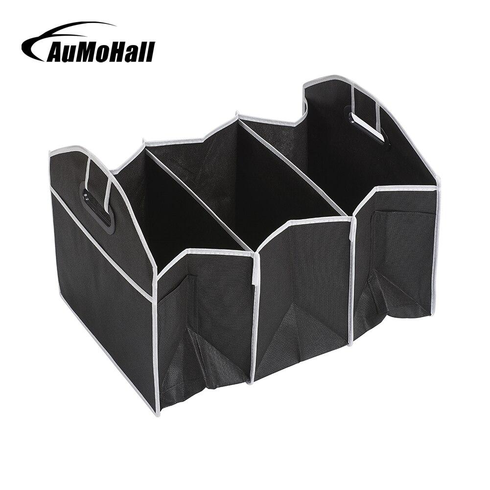 AuMoHall Auto Multi-Pocket Organizer Grande Capacità Sacchetto di Immagazzinaggio Pieghevole Tronco Stivaggio e Riordino