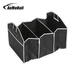 AuMoHall Carro Multi-Bolso Organizador de Grande Capacidade Saco de Armazenamento De Dobramento Tronco Estiva e arrumação